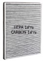ใส้กรองฝุ่นละเอียดและกลิ่น (HEPA+Carbon) Philips AC3259/20