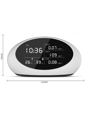 pm 2.5 Meter มิเตอร์วัดคุณภาพอากาศ (PM2.5, HCHO, TVOC, Temperature, Humidity)